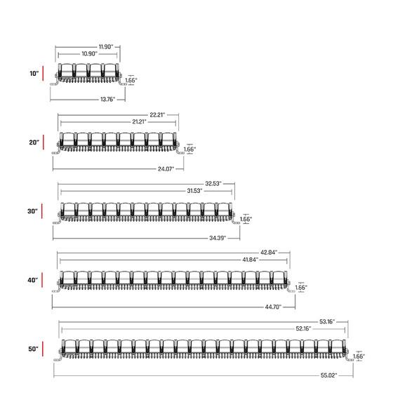 "RIGID Industries Adapt 20"" Light Bar - Black [220413]"