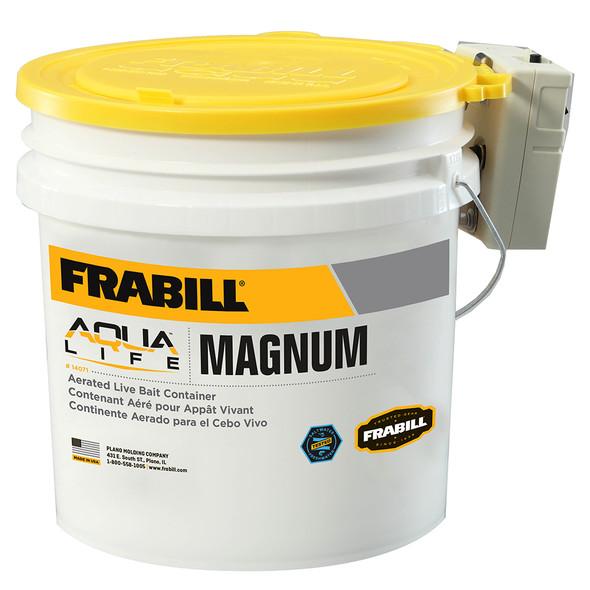 Frabill Magnum Bucket - 4.25 Gallons w/Aerator [14071]