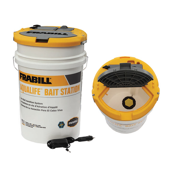 Frabill Aqua-Life Bait Station - 6 Gallon Bucket [14691]