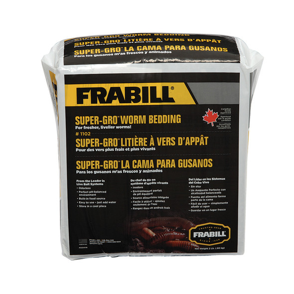 Frabill Super-Gro Worm Bedding - 2lbs [1102]