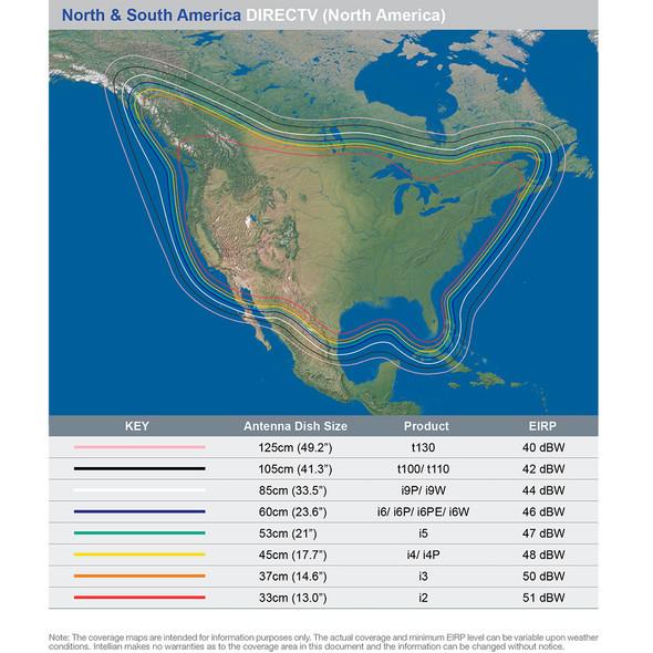 """Intellian i2 US 13"""" w\/North Americas LNB [B4-209SS]"""