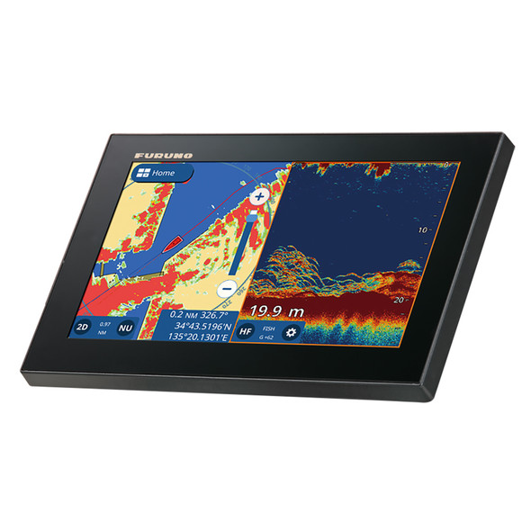 "Furuno GP1971F 9"" GPS/Chartplotter/Fishfinder 50/200, 600W, 1kW, Single Channel  CHIRP [GP1971F]"