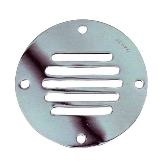 "Perko Chrome Plated Brass Round Locker Ventilator - 3-1\/4"" [0330DP2CHR]"