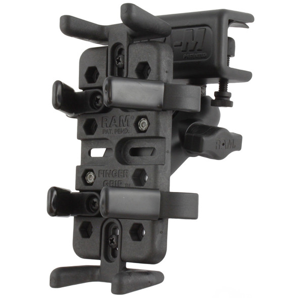 RAM Mount Universal Finger Grip Glare Shield Clamp Mount [RAM-B-177-UN4]