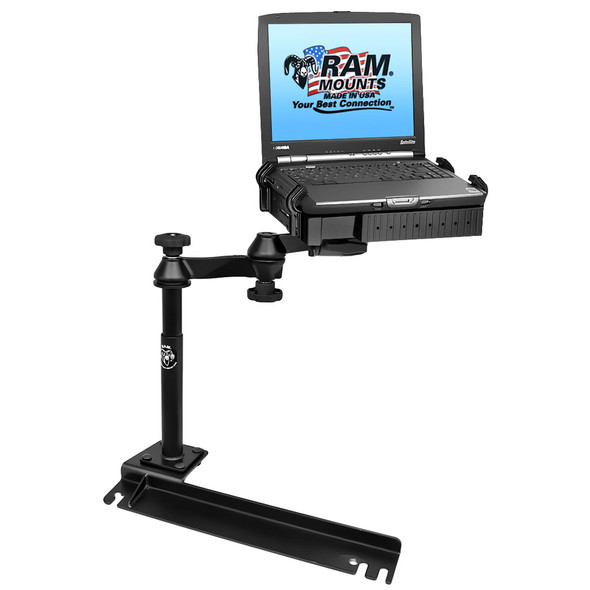 RAM Mount No-Drill Laptop Mount f\/Ford Transit Connect, Dodge Grand Caravan, Chrysler Town & Country [RAM-VB-175-SW1]