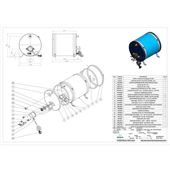 Albin Pump Marine Premium Water Heater 8G - 120V [08-01-025]
