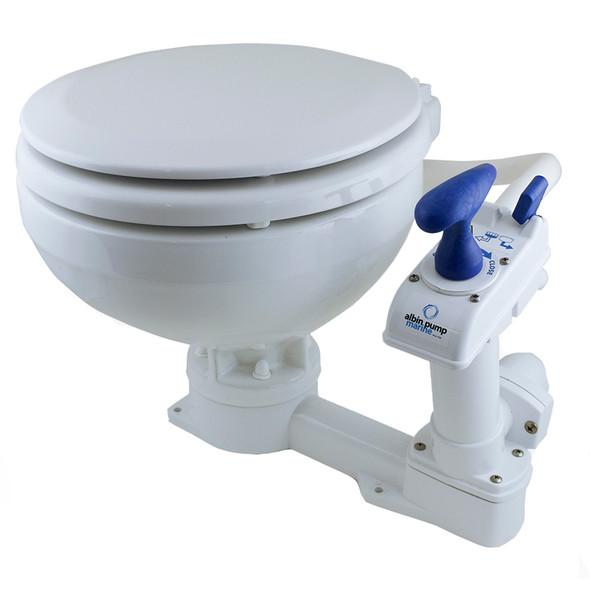 Albin Pump Marine Toilet Manual Comfort [07-01-002]