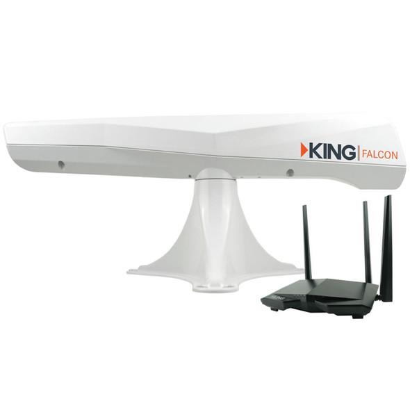KING Falcon Directional Wi-Fi Extender - White [KF1000]