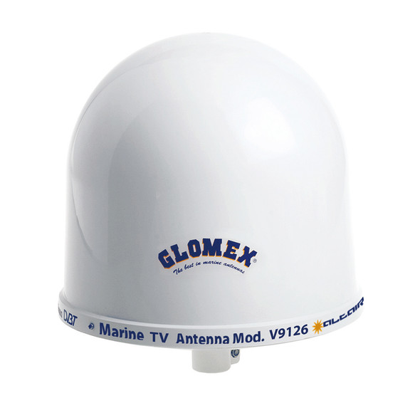 "Glomex 10"" Dome TV Antenna w\/Auto Gain Control  Mount [V9126AGC]"