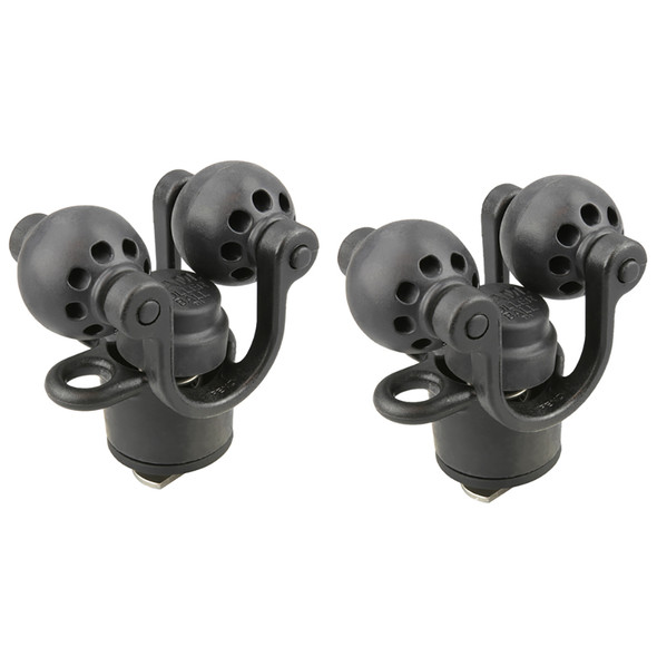 RAM Mount 2-Pack RAM Roller-Ball Paddle  Accessory Holder [RAP-412-2]