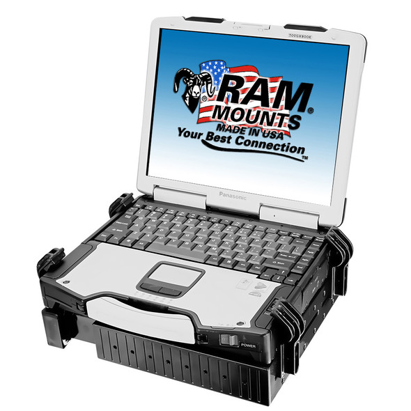 Ram Mount Universal Laptop Tough-Tray Holder [RAM-234-3]
