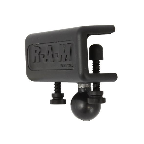 "RAM Mount 1"" x 1"" Glare Shield Clamp Base w\/1"" Ball [RAM-B-259U]"