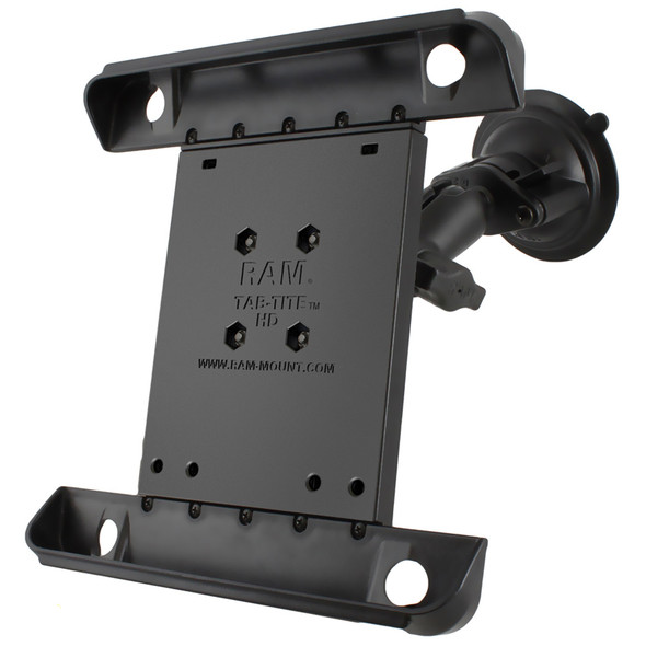 RAM Mount Tab-Tite iPad \/ HP TouchPad Cradle Twist Lock Suction Cup Mount [RAM-B-166-TAB3U]