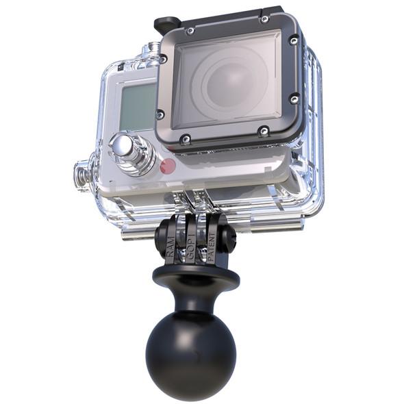 "RAM Mount GoPro Adapter w\/1"" Ball [RAP-B-202U-GOP1]"