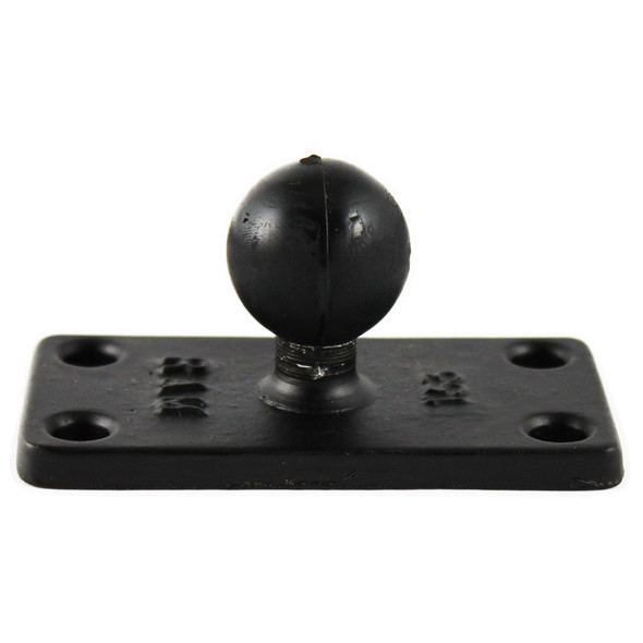 "RAM Mount 1.5"" x 3"" Rectange Base w\/1"" Ball [RAM-B-202U-153]"