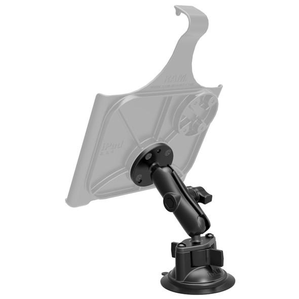 RAM Mount Twist Lock Suction Cup w\/Round Base Adapter [RAM-B-166-202U]