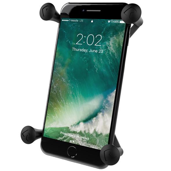 "RAM Mount Universal X-Grip IV Large Phone\/Phablet Holder w\/1"" Ball [RAM-HOL-UN10BU]"
