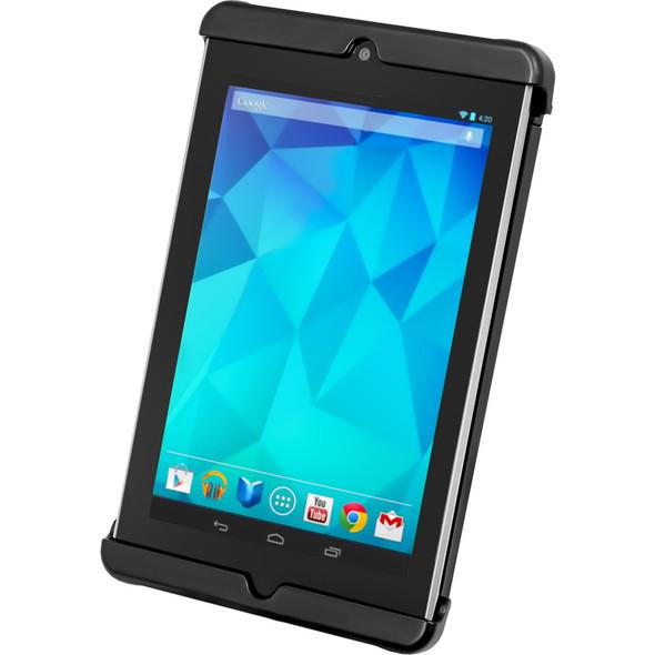RAM Mount Tab-Tite Universal Clamping Cradle f\/Google Nexus 7 w\/ or w\/o Light Duty Sleeve [RAM-HOL-TAB18U]
