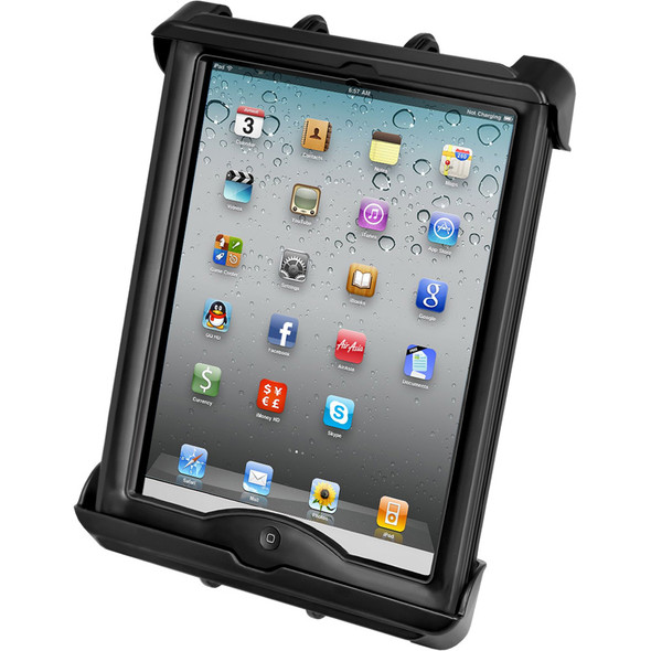 RAM Mount Tab-Lock Universal Locking Cradle f\/Apple iPad w\/LifeProof & Lifedge Cases [RAM-HOL-TABL17U]