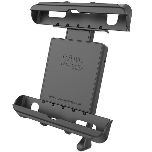 RAM Mount Tab-Lock Universal Locking Cradle f\/Apple iPad w\/LifeProof & Lifedge Cases [RAM-HOL-TABL17U]