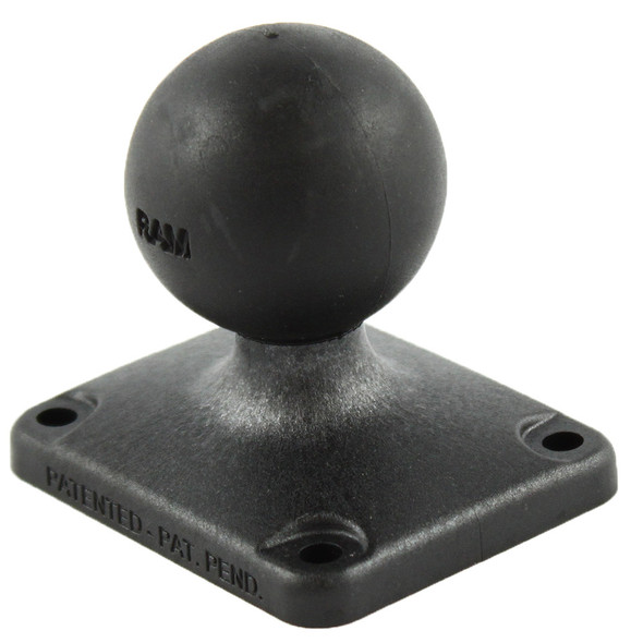 "RAM Mount 2"" x 2.5"" Rectangle Composite Base w\/1.5"" Ball [RAP-202U-225]"