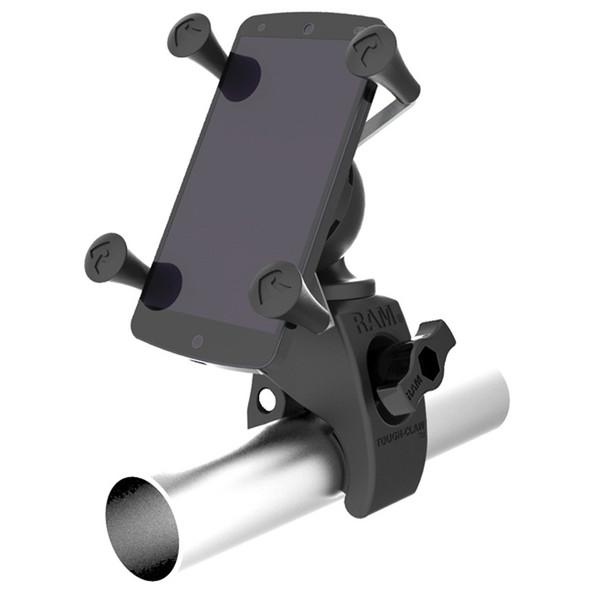 RAM Mount Tough-Claw Mount w\/Universal X-Grip Phone Holder [RAM-HOL-UN7-400U]
