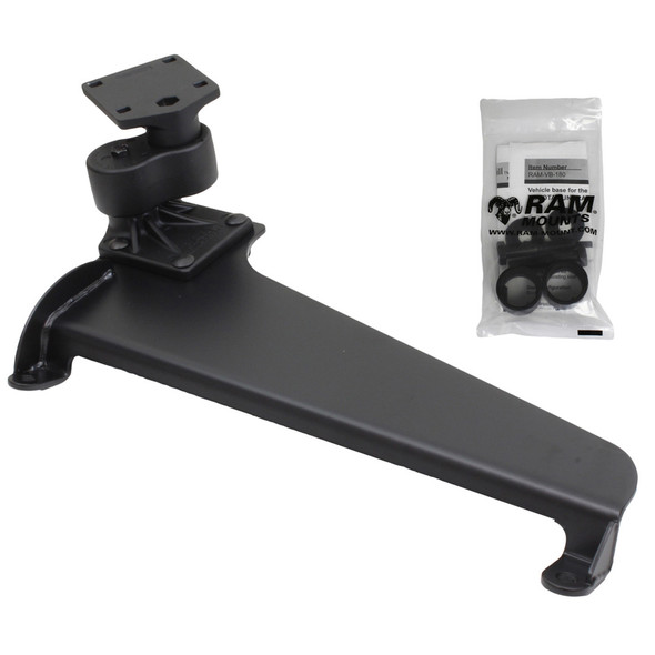 RAM Mount No Drill Vehicle Laptop Base f\/Nissan NV1500, NV2500 HD, NV3500 HD & Toyota Tundra [RAM-VB-180]