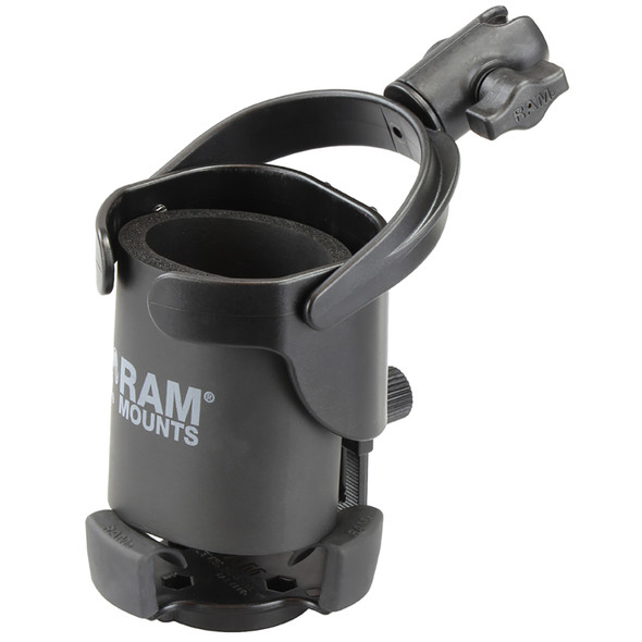 "RAM Mount Level Cup XL w\/Single Socket for B Size 1"" Ball [RAP-B-417-200-1U]"