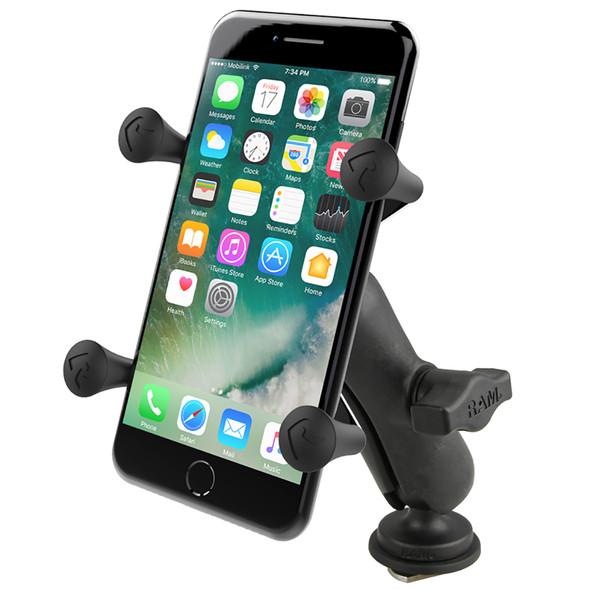 Ram Mount X-Grip Phone Mount w\/Track BallBase [RAP-HOL-UN7B-354-TRA1U]