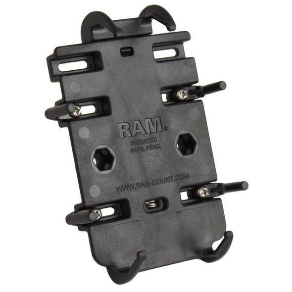 RAM Mount Quick-Grip Spring Loaded Cradle for Cell Phones [RAM-HOL-PD3U]