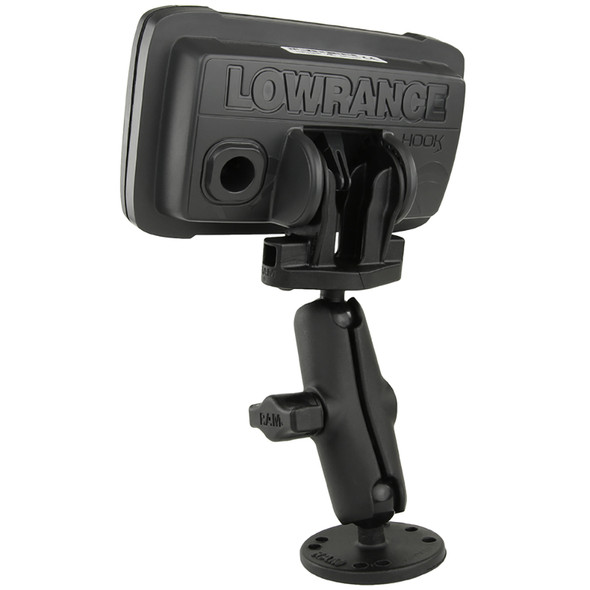 "RAM Mount B Size 1"" Fishfinder Mount for the Lowrance Hook2 Series [RAM-B-101-LO12]"