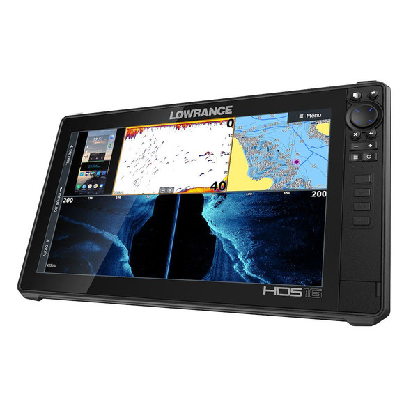 Lowrance HDS-16 LIVE with Active Imaging 3-in-1 Transom Mount C-MAP Pro Chart [000-14434-001]