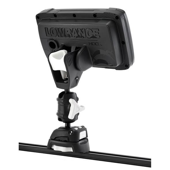 Scanstrut ROKK Mini Pro Mount Kit w\/Kayak Track Base f\/Lowrance HOOK2 [RLS-521-407]