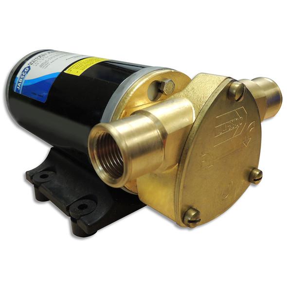 Jabsco Ballast King Bronze DC Pump w/Reversing Switch - 15 GPM [22610-9507]