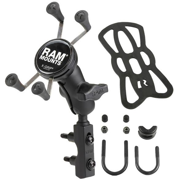RAM Mount X-Grip Phone Mount w\/Motorcycle Brake\/Clutch Reservoir Base [RAM-B-174-A-UN7U]