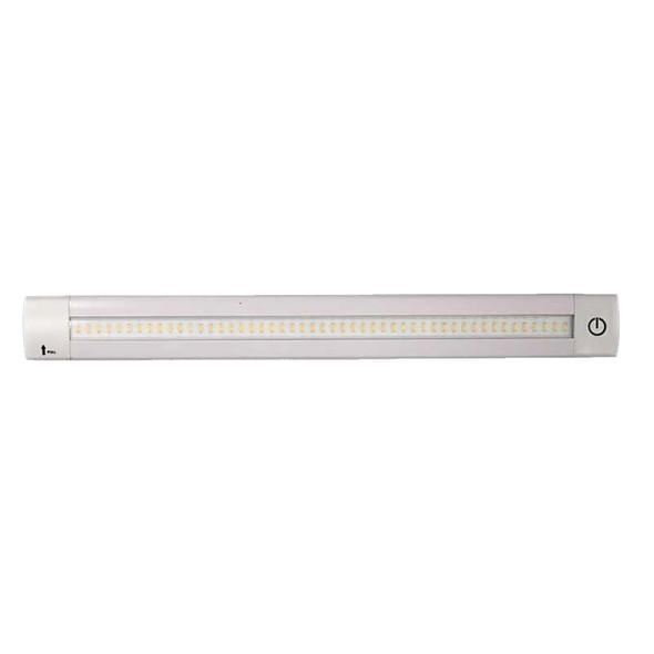 "Lunasea Adjustable Linear LED Light w/Built-In Dimmer - 12"" Warm White w/Switch [LLB-32KW-01-00]"