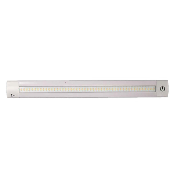 "Lunasea Adjustable Linear LED Light w/Built-In Dimmer - 20"" Warm White w/Switch [LLB-32LW-01-00]"