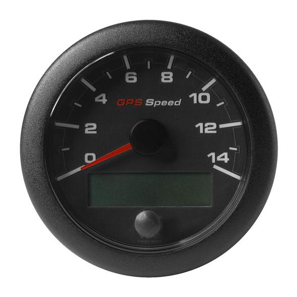 "VDO 3-3/8"" (85mm) OceanLink GPS Speedometer 0-14 - Black Dial  Bezel [A2C1351970001]"