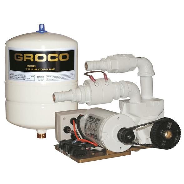GROCO Paragon Junior 12v Water Pressure System - 1 Gal Tank - 7 GPM [PJR-A 12V]