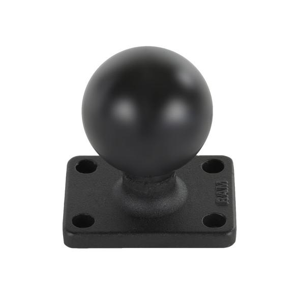 "RAM Mount 1.5"" x 2"" Rectangle Base w/1.5"" Ball [RAM-202U-152]"