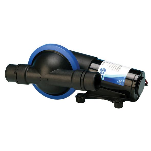 Jabsco Filterless Waste Pump w/Single Diaphragm - 24V [50890-1100]
