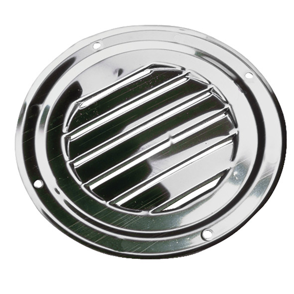 """Sea-Dog Stainless Steel Round Louvered Vent - 5"""" [331425-1]"""