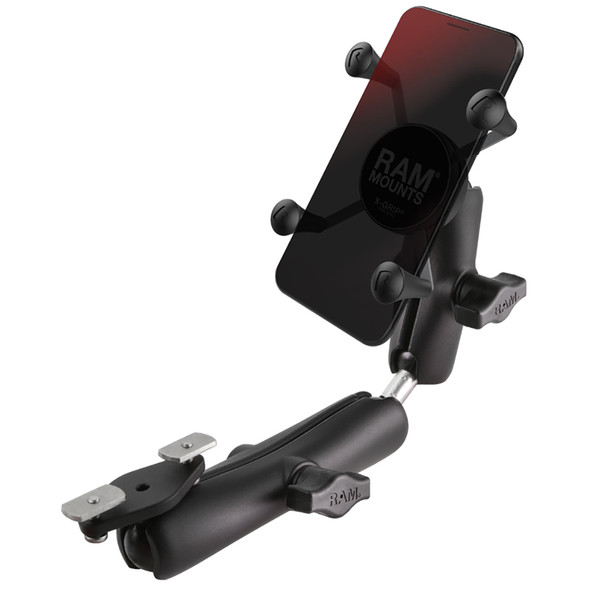 RAM Mount X-Grip Phone Mount f\/Wheelchair Armrests [RAM-B-238-WCT-2-UN7]