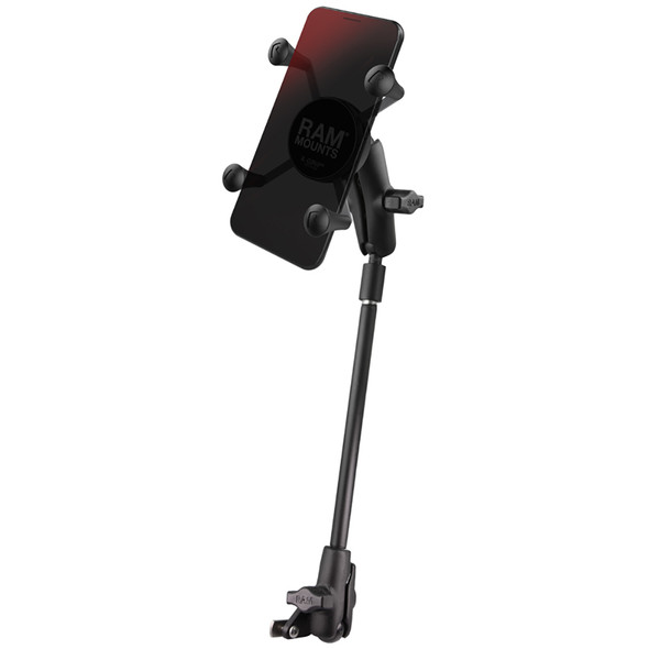 RAM Mount X-Grip Phone Mount f\/Wheelchair Seat Tracks [RAM-B-238-WCT-9-UN7]
