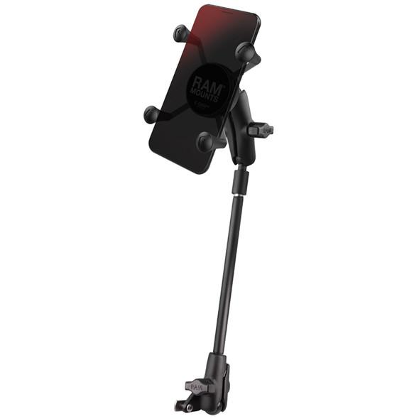 RAM Mount X-Grip Phone Mount f\/Wheelchair Seat Tracks [RAM-B-238-WCT-9-UN7]