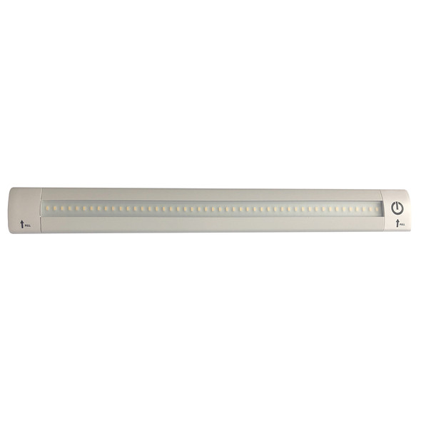 "Lunasea 12"" Adjustable Linear LED Light w/Built-In Touch Dimmer Switch - Cool White [LLB-32KC-01-00]"