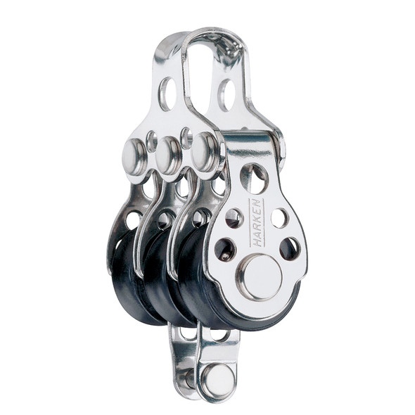 Harken 16mm Triple Block w/Becket - Fishing [409F]