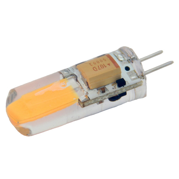 Lunasea Natural White G4 Bulb 2W 10-30VDC Bottom Pin Silicon Encapsulated [LLB-21KC-71-00]