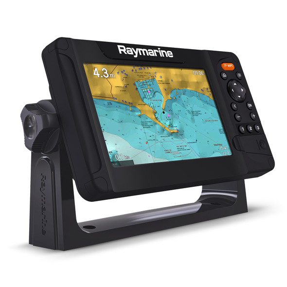 Raymarine Element 7 S Combo High CHIRP - No Transducer - No Chart - Uses CPT-2 Transducers [E70531]