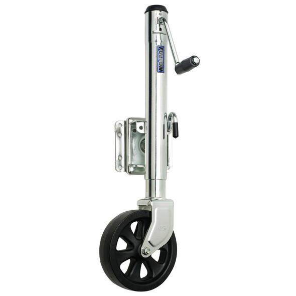 Fulton Single Wheel 1,500 lbs. Bolt-Thru Swivel Jack [XP15 0101]